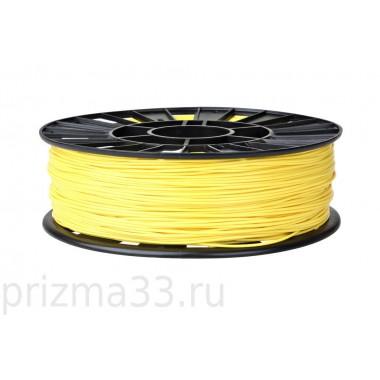 ABS пластик (желтый 0.75кг)
