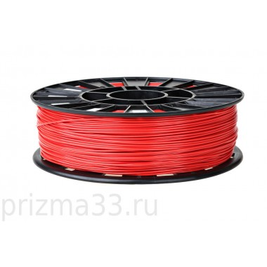ABS пластик (красный 0.75кг)
