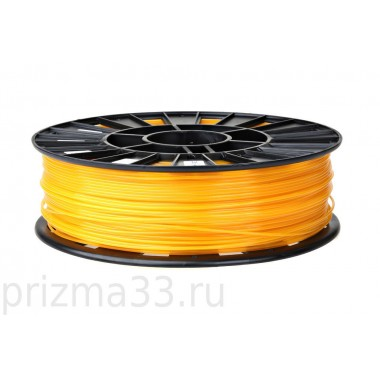 ABS пластик (прозрачно-оранжевый 0.75кг)