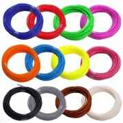 ABS пластик для 3D ручки (набор 10 цветов)