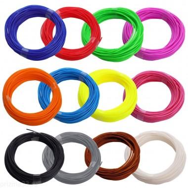 ABS пластик для 3D ручки (набор 15 цветов)