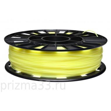 PLA пластик (лимон 0.75кг)