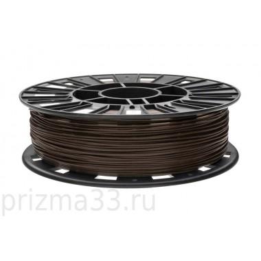 PLA пластик (коричневый 0.75кг)