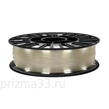 PLA пластик (натуральный-полупрозрачный 0.75кг)
