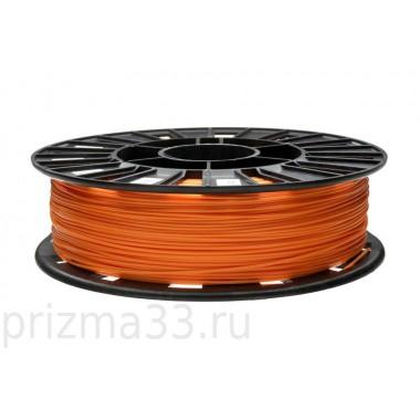 PLA пластик (оранжевый 0.75кг)