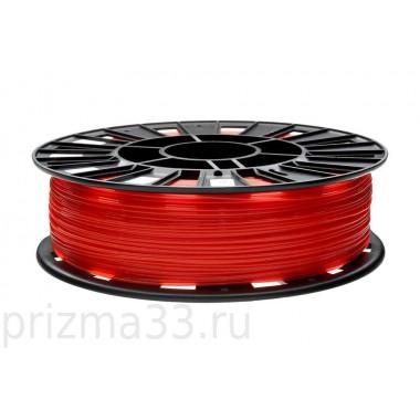 PLA пластик (красный 0.75кг)