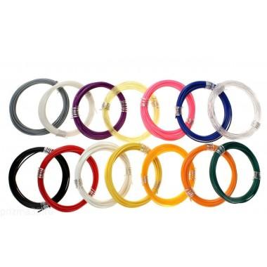 PLA пластик для 3D ручки (набор 10 цветов)