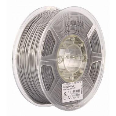 Катушка PLA-пластика ESUN 3.00 мм 1кг., серебряная (PLA300S1)