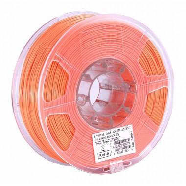 Катушка ABS-пластика ESUN 1.75 мм 1кг., оранжевая (ABS175O1)