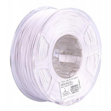 Катушка ABS-Пластика ESUN 1.75 мм 1кг., белая (ABS175W1)