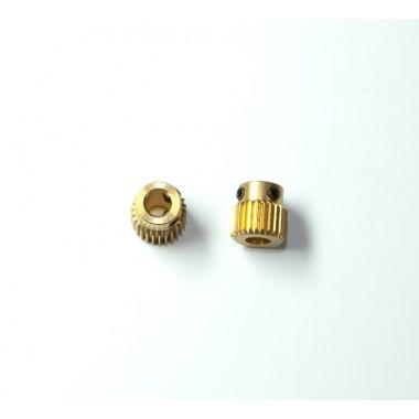 Зубчатое колесо для захвата пластика в экструдере для 3D принтера Wanhao Duplicator 4/4X/4S