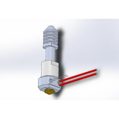 Экструдер в сборе для 3D принтера Felix, v4