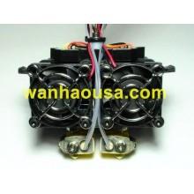 Двойной экструдер MK9 в сборе для 3D принтера Wanhao Duplicator 4/4X/4S