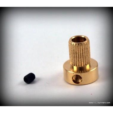 Зубчатое колесо для подачи пластика для 3D принтера Felix