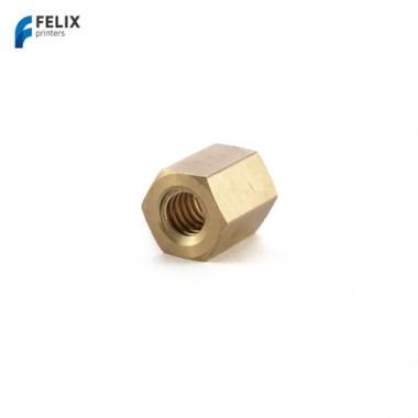 Соединительная гайка для шагового двигателя оси Z для Felix