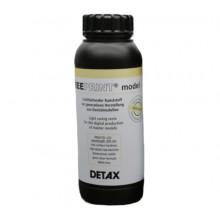 Фотополимер DETAX, Free print model, песочный (1 кг)